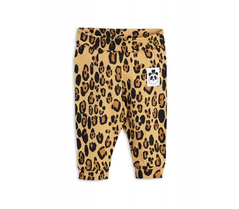 Mini Rodini basic leopard newborn legging