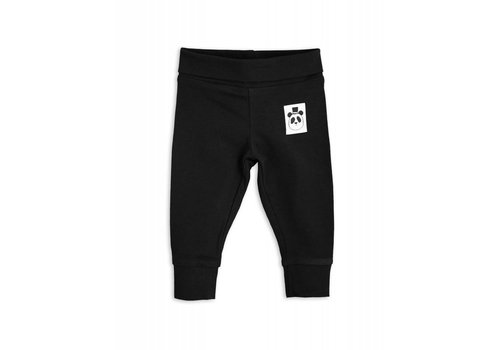 Mini Rodini Mini Rodini basic black newborn legging