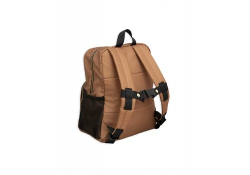Mini Rodini Mini Rodini Pand beige Backpack