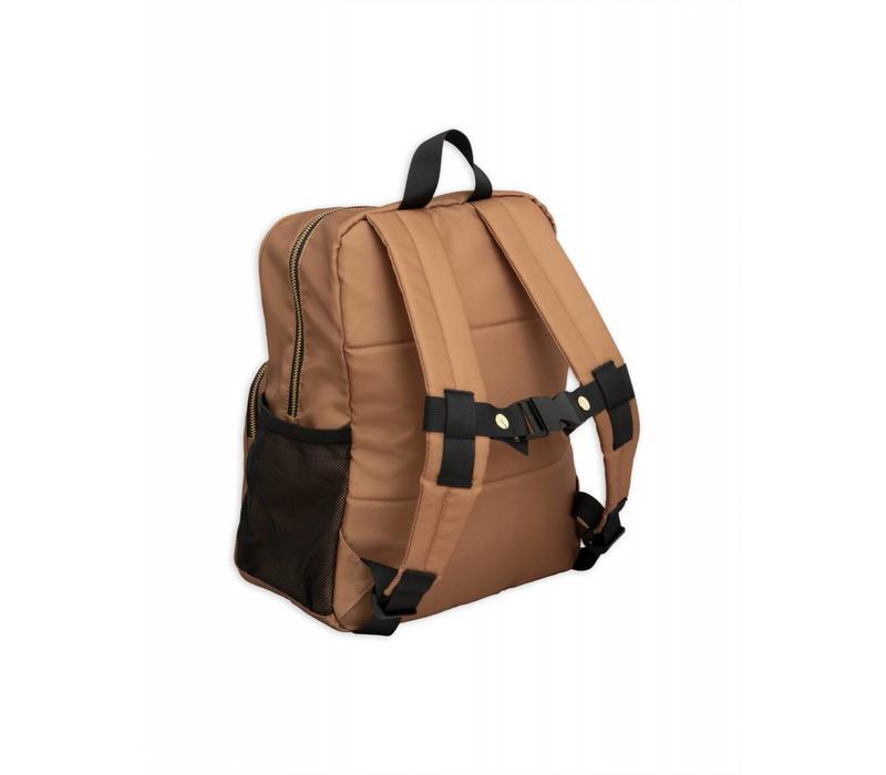 Mini Rodini Pand beige Backpack