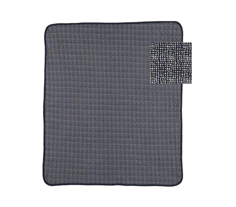 Copy of Lux printed blanket sand/black