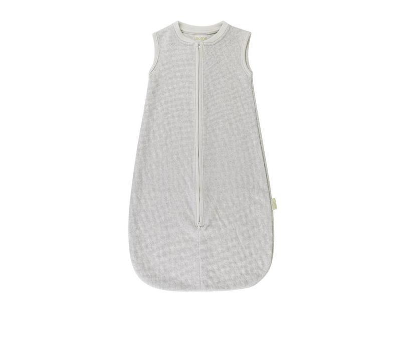 Lux printed sleeping bag sand/softblue