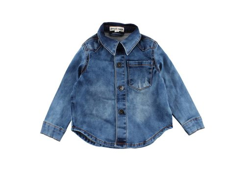 Small Rags Small Rags Hubert LS Denim Shirt