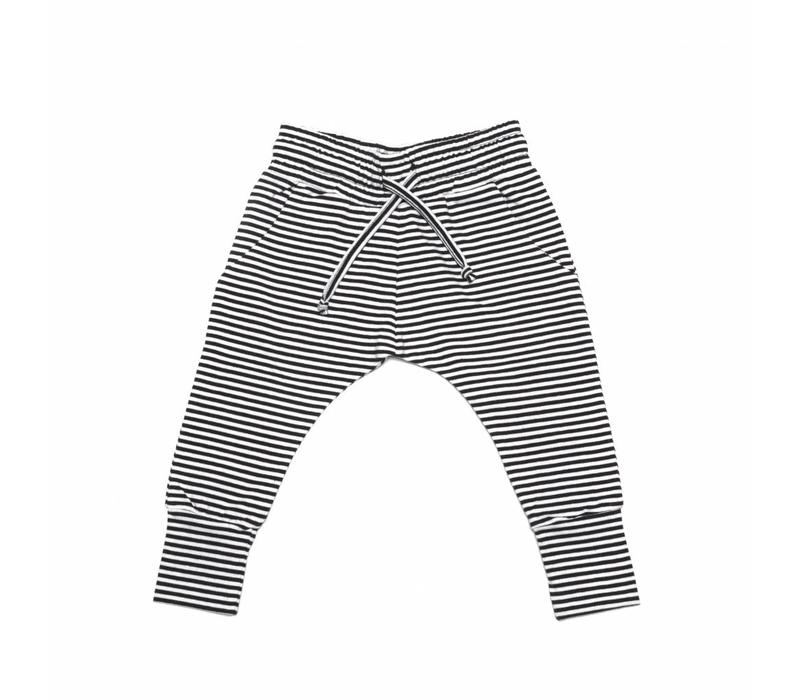 Mingo Slim fit jogger Stripes