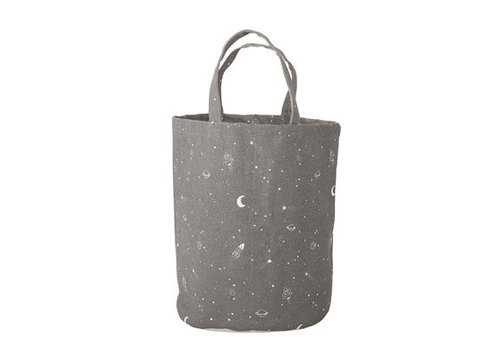 Bloomingville Bloomingville Storage Bag, Grey, Cotton