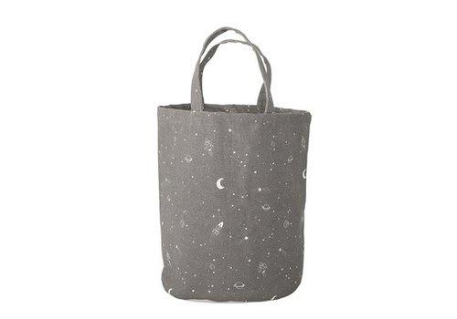 Bloomingville Bloomingville Storage Bag, Grey, Cotton