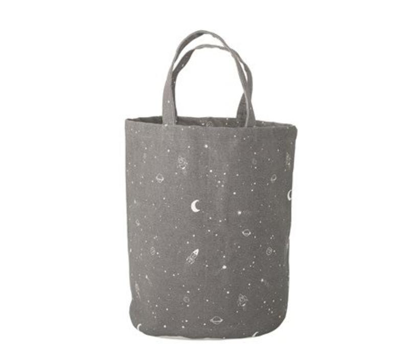 Bloomingville Storage Bag, Grey, Cotton