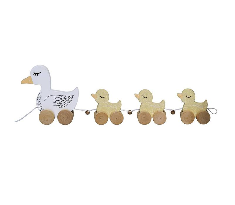 Bloomingville Pull Along Toy, Multi-color, MDF