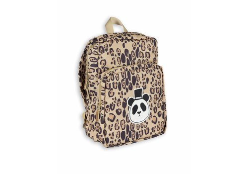 Mini Rodini Mini Rodini backpack panda leopard
