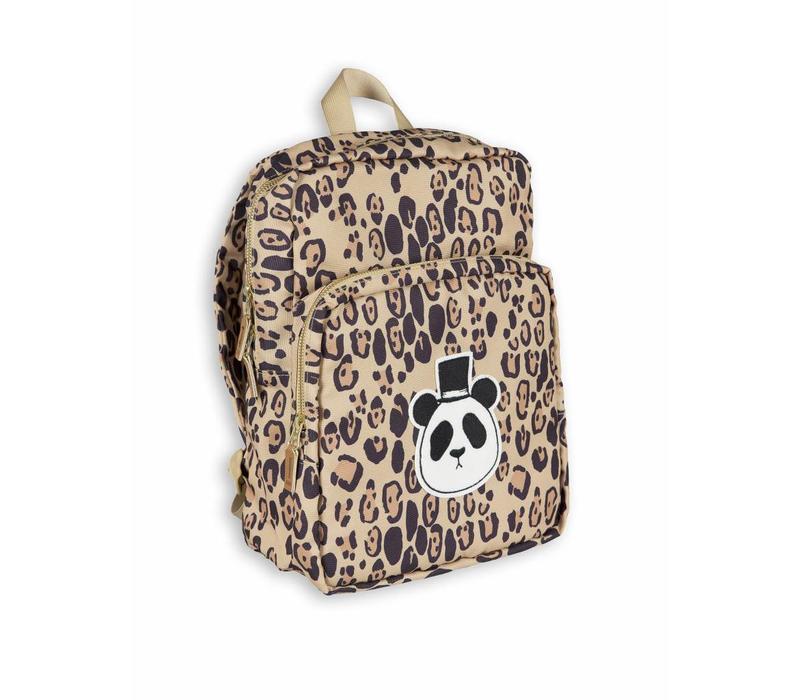 Mini Rodini backpack panda leopard