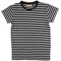 Nordic Label Basic SS stripe zwart/grijs