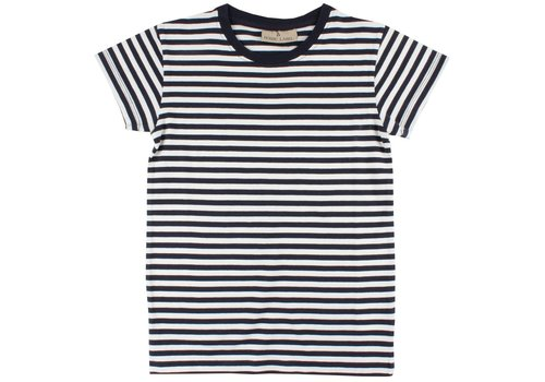 Nordic Label Nordic Label Basic SS stripe navy/white