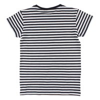 Nordic Label Basic SS stripe navy/white
