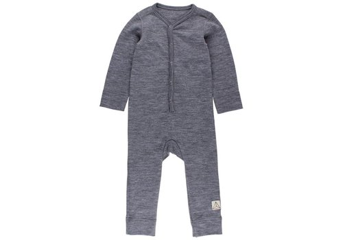 Nordic Label Wool overall Dark Grey
