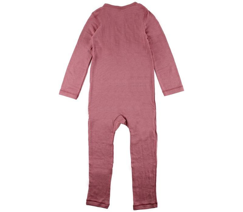 Wool overall Roze