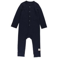 Wool overall Navy