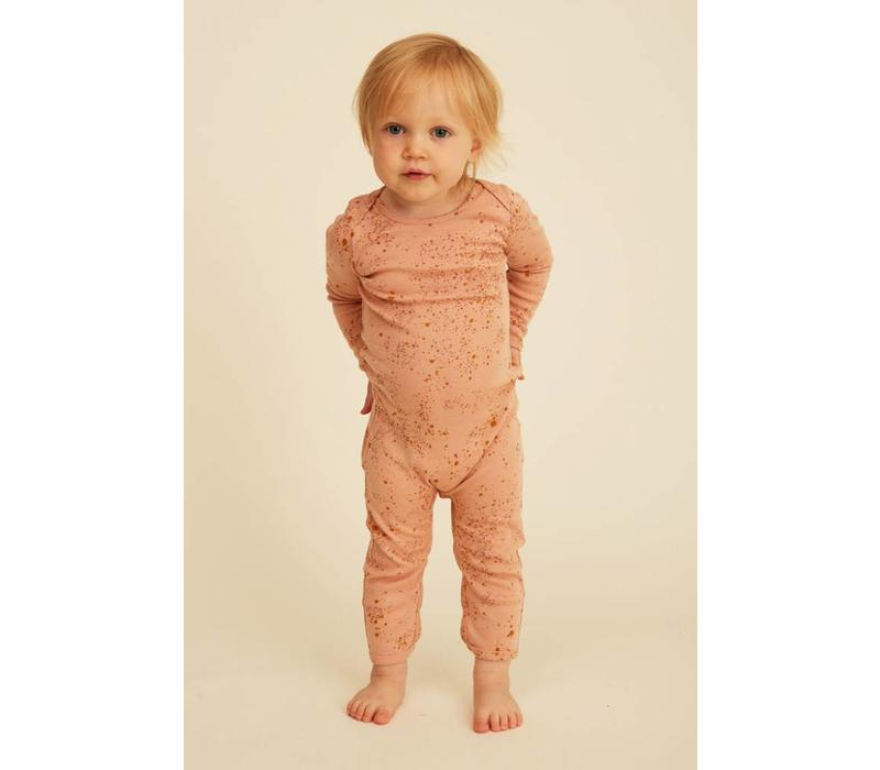 Soft Gallery Ben Bodysuit Peach Perfect