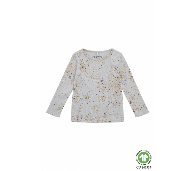 Soft Gallery Paula Bella T-shirt Ocean Grey