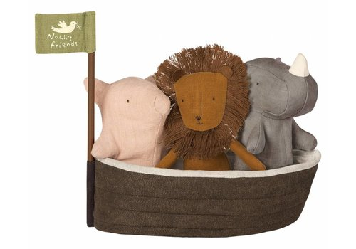 Maileg Maileg Noah`s Ark with 3 mini animals