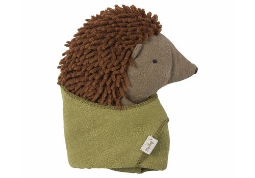 Maileg Maileg Little Hedgehog w. leaf