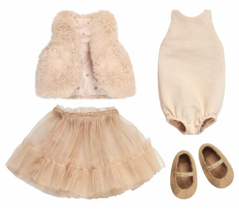 Maileg Medium light bunny - Dance Princess