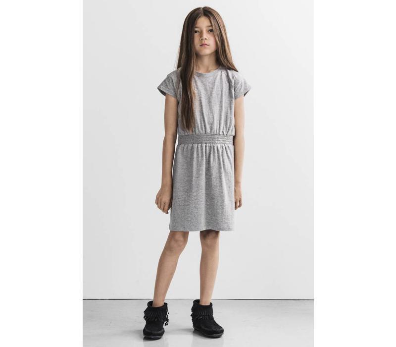 I Dig denim - dress - Perla-Grijs melee