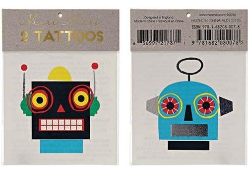Meri Meri Meri Meri Robots tattoos
