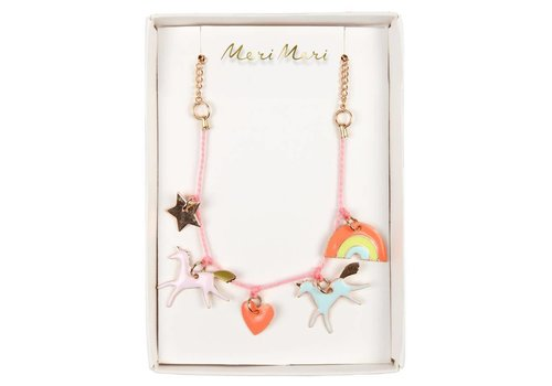 Meri Meri Meri Meri Unicorn enamel necklace