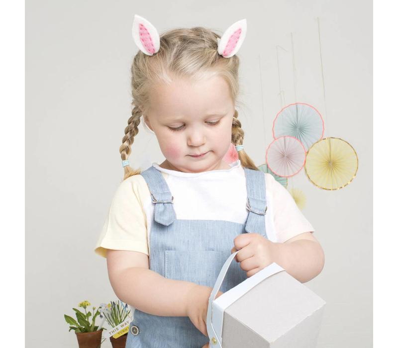 Meri Meri Bunny ear hair clips