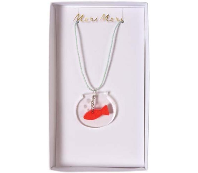 Meri Meri Fish bowl necklace