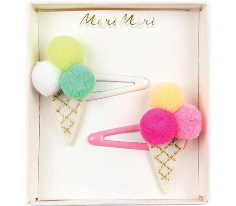 Meri Meri Ice-cream hair clips