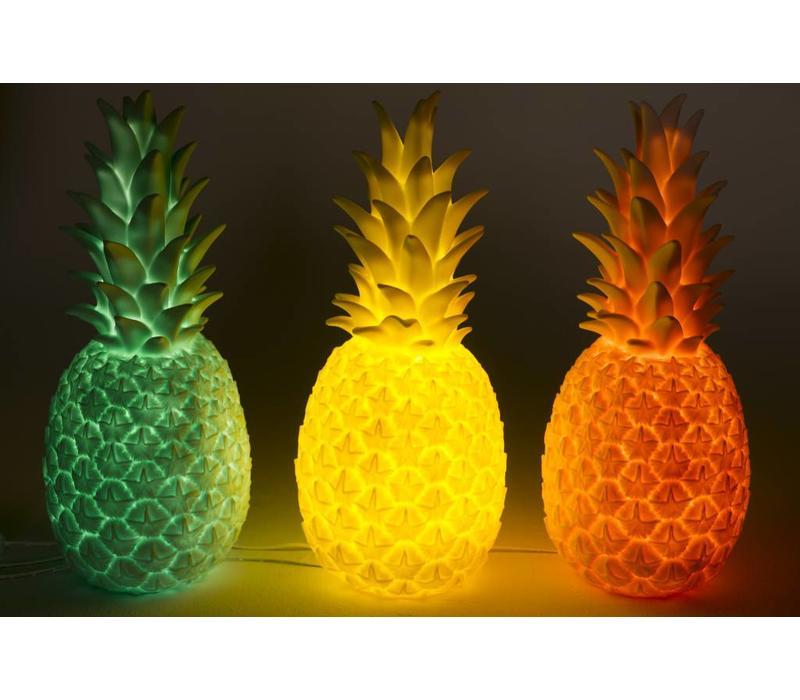 Ananas lamp - Red - Goodnight light Pineapple
