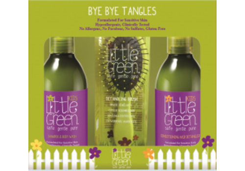 Little Green Little Green Kids Bye Bye Tangles w/brush window