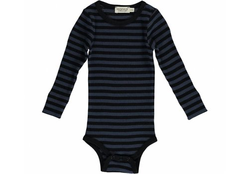 MarMar Copenhagen MarMar Copenhagen Plain Body LS Stripe Black/Blue