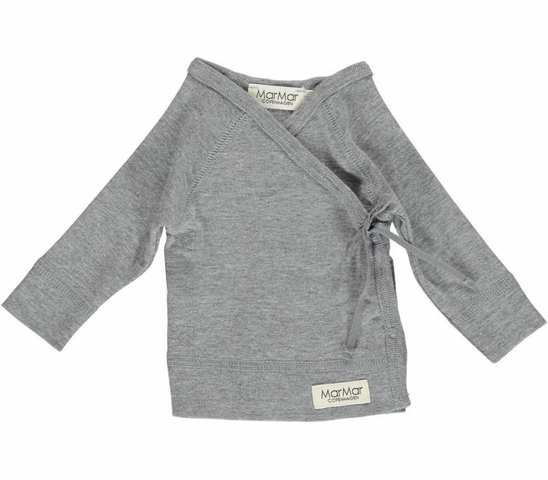 MarMar Copenhagen New Born Wrap LS Grey Tut