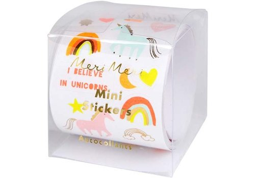 Meri Meri Meri Meri Mini Unicorn Sticker Roll