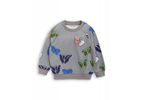 Mini Rodini Mini Rodini Sweatshirt Butterflies grey