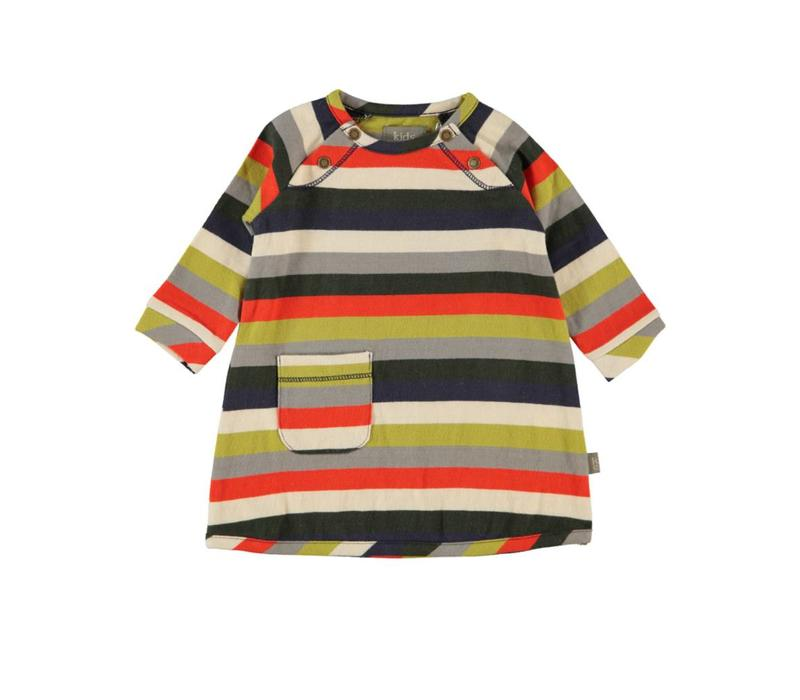 Kidscase Dress streep