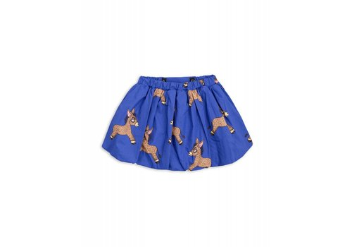 Mini Rodini Mini Rodini Donkey Woven Balloon Skirt blue
