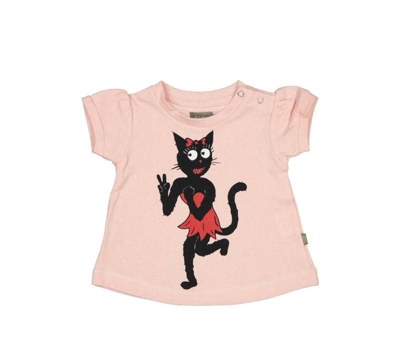 Kidscase Bobby-t-shirt Girls Pink