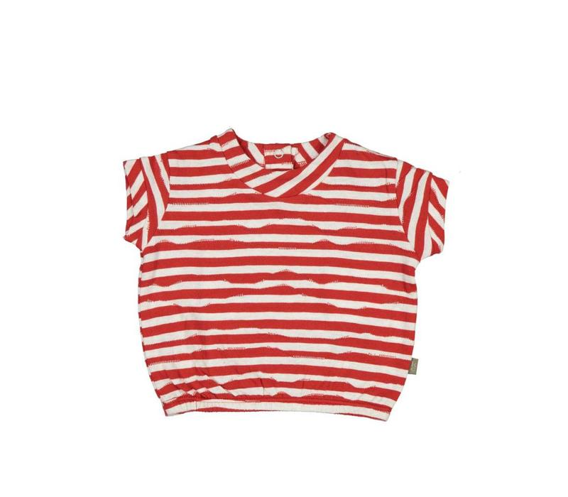 Kidscase Wave-t-shirt Girls Red