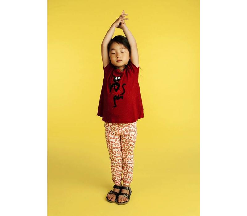 Kidscase summer legging bubbles red