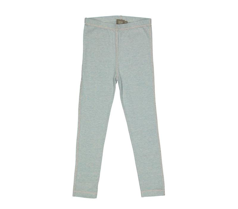 Kidscase Matt organic stretch legging light blue