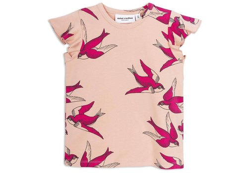 Mini Rodini Mini Rodini Swallows wing tee