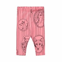 Mini Rodini legging Fox pink