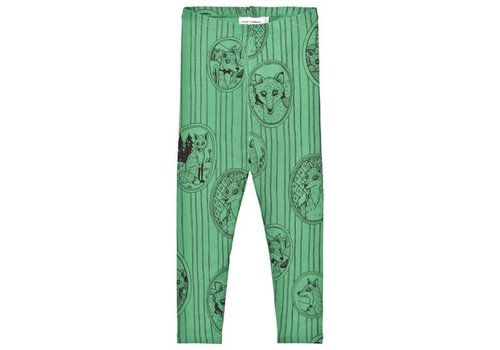 Mini Rodini Mini Rodini legging Fox green