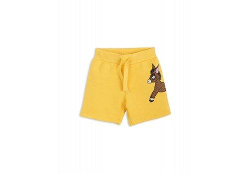 Mini Rodini Mini Rodini Donkey Sweatshorts yellow