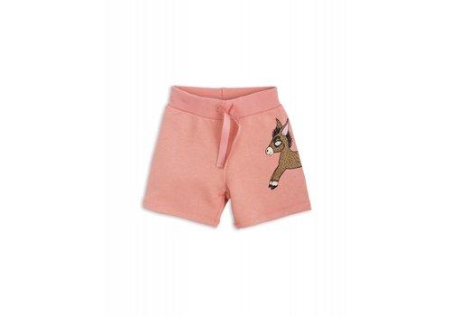 Mini Rodini Mini Rodini Donkey Sweatshorts pink