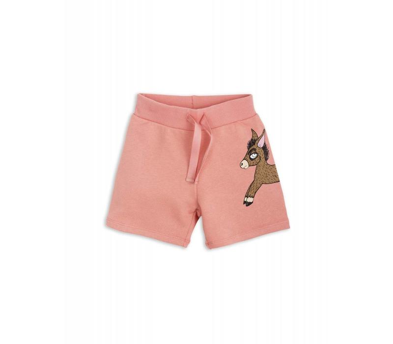 Mini Rodini Donkey Sweatshorts pink