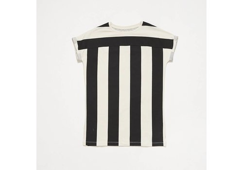 Repose AMS Repose AMS t-shirt dress thunder block stripe